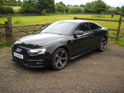 audi a5 sline audi a5 tdi quattro s line black edition for sale from top