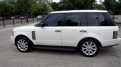 land rover 2006 for sale 2006 land rover range rover supercharged for sale chicago