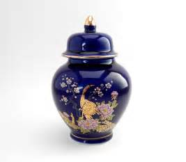 Vintage japanese miniature ginger jar by hiddenstairwayfinds