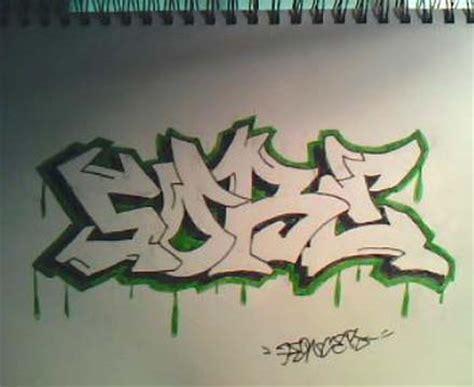 how to write graffiti on paper the graffiti design