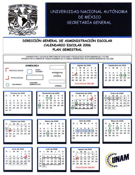 Calendario Escolar 2005 Calendario Escolar Semestral 2005 2006
