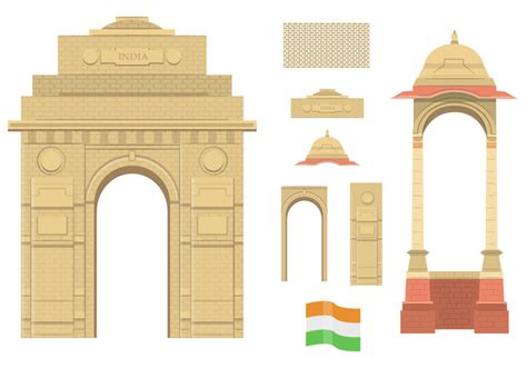 design elements mumbai places clipart india gate pencil and in color places