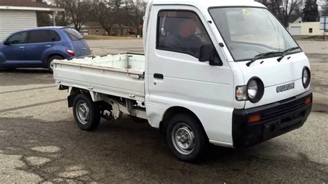 suzuki truck suzuki type v dd511 mini truck utility vehicle