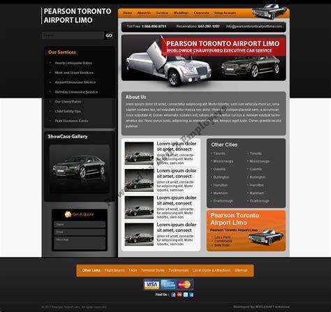 Pearson Toronto Airport Limousine Web Templates By Limousine Web Template