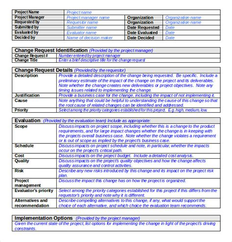 change order template exle 24 change order templates pdf doc free premium