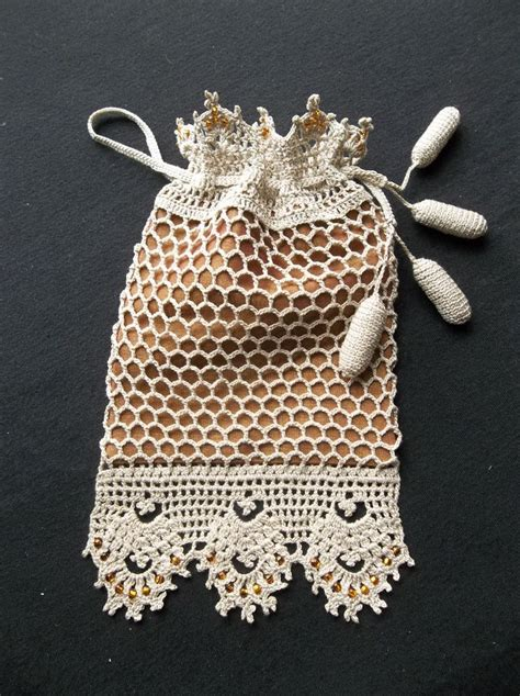 pattern crochet reticule 17 best images about crochet bag reticule purses on
