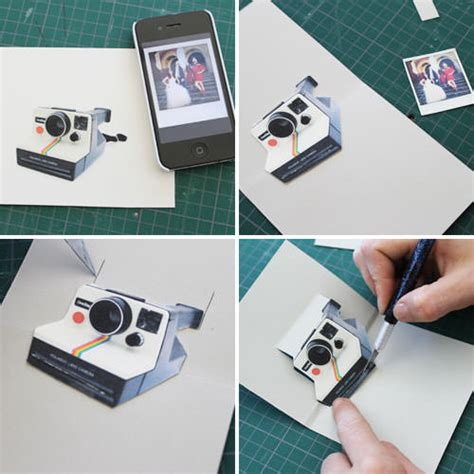 Diy Polaroid Pop Up Card Template by How To Make A Diy Polaroid Pop Up Card