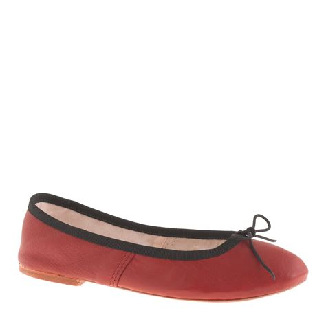cerise pink flat shoes j crew e porselli for leather ballet flats in pink bright