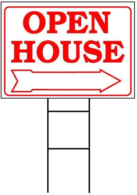 open house sign open house sign kit