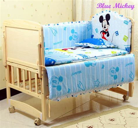 coverlet baby baby bedding set cotton crib bumper pillow baby cot baby