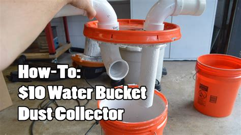 water bucket dust collector youtube