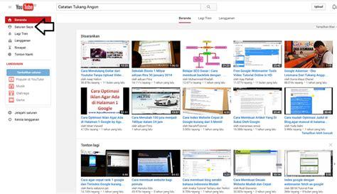 membuat saluran youtube cara mudah membuat channel atau saluran baru youtube spammer