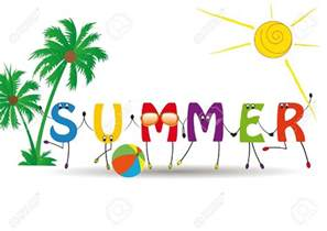 summer words clipart 48