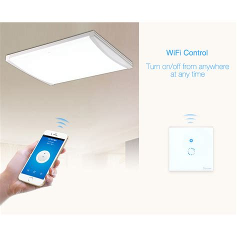 Sonoff Panel Lu Touch Wifi Smart Home sonoff panel lu touch wifi smart home white jakartanotebook