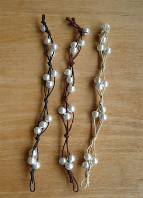 easy bracelets make bracelet with cord and