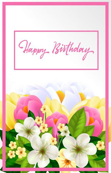 imagenes de feliz cumpleaños para mujer tarjeta del feliz cumplea 241 os para mujer descargar
