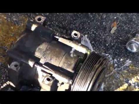 how to remove the a c compressor on vw jetta mk5 ac compressor youtube how to remove a c compressor 1991 2001 ford mazda mercury