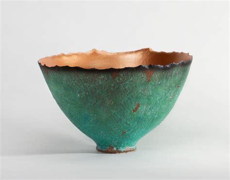 ceramic bowls copper patina prosperity bowl by cheryl williams ceramic bowl artful home