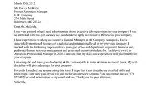 Cover Letter For Executive Position by Sle Executive Director Cover Letter For Non Profit
