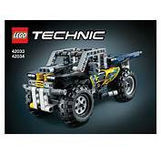 LEGO 42033  42034 Extreme Off Roader Instructions