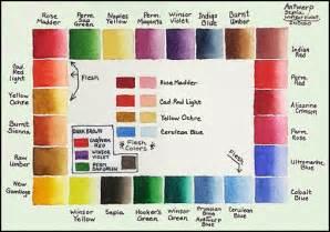 watercolor palette colors mara mattia watercolor materials