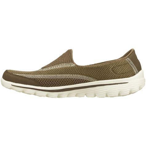 skechers 2016 womens go walk 2 slip on walking shoes