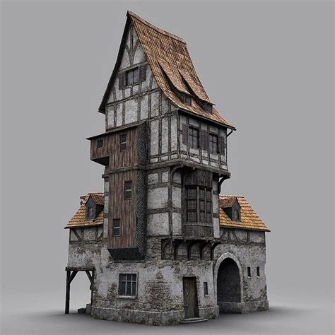 fantasy houses fantasy old blacksmith house obj architecture pinterest house building and medieval