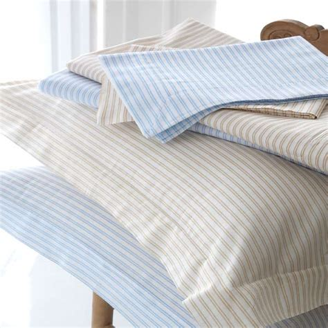100 cotton bed linen sashi bed linen carlyle striped 100 cotton duvet cover