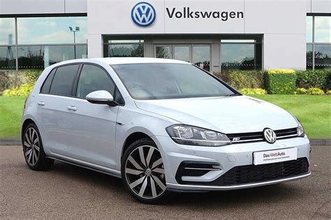 used volkswagen golf used volkswagen golf 2 0 tdi r line 5dr for sale what
