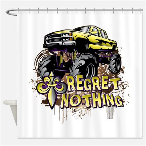 monster truck curtains monster truck shower curtains monster truck fabric
