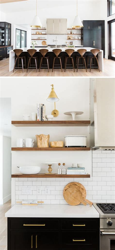 kitchen cabinets open shelving best 25 open shelving ideas on interiors