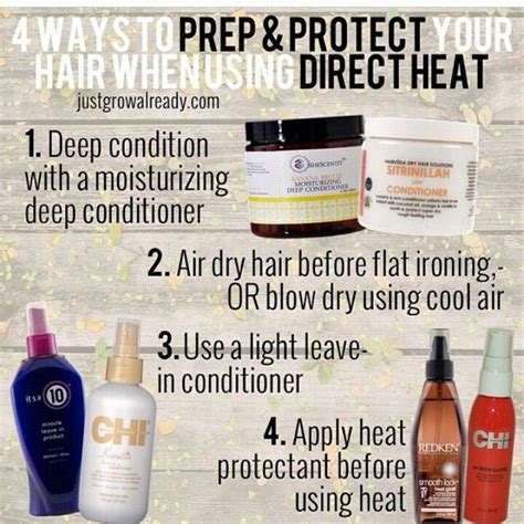 Organic Care Heat Protect heat protection hair care products