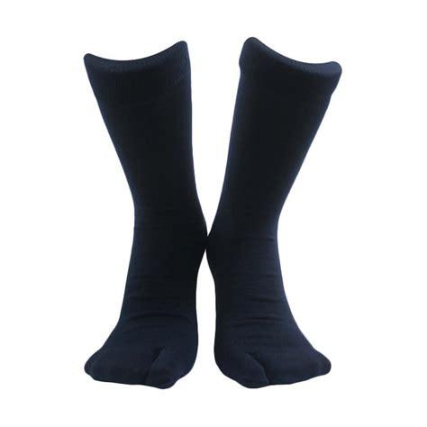 Kaos Kaki Jempol Kualitas Import jual soka jempol pendek kaos kaki wanita biru tua harga kualitas terjamin blibli
