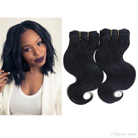how long is 10 inch weave 2 bundles 100g 8 7a human hair extensions brazilian body