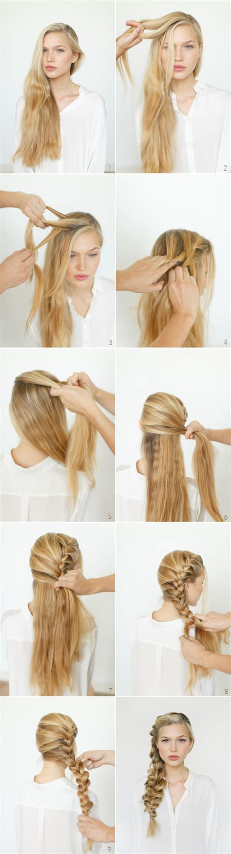 hairstyles and braids tutorial romantic side braid hair tutorial wedding hairstyles for