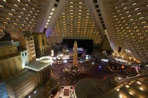 Luxor Interior View From The Interior Balcony 15th Floor Picture Of