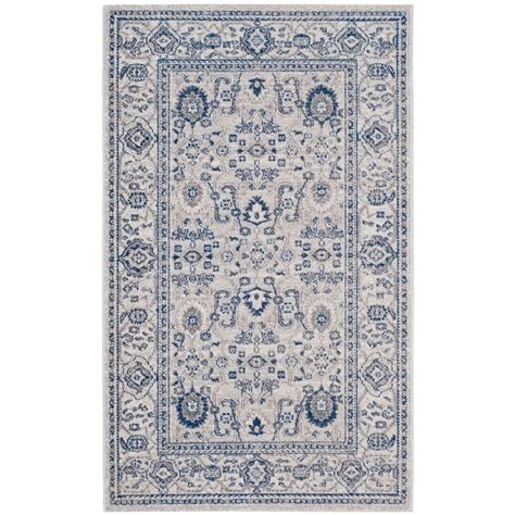 artisan area rugs safavieh artisan silver 3 ft x 5 ft area rug atn322c 3 the home depot