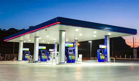 station lighted gas station canopy lighting levels lighting ideas