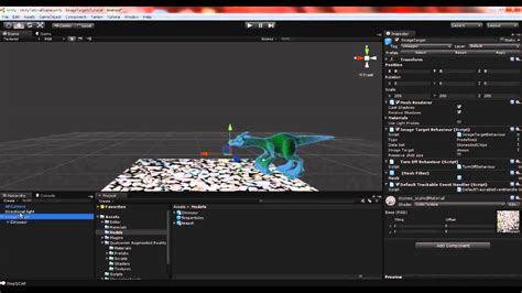 tutorial unity augmented reality image targets in unity tutorial vuforia augmented