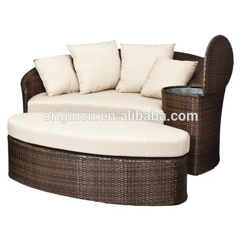 outdoor sectional daybed patio loveseat and ottoman sectional round sun bed with