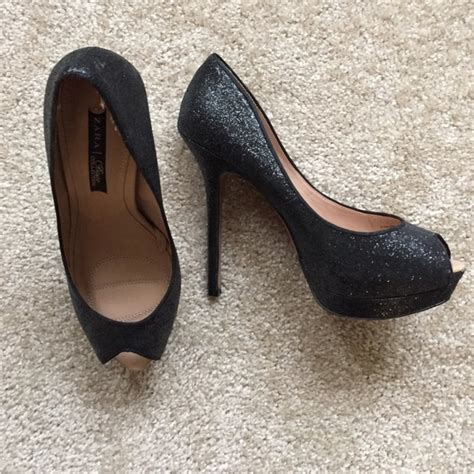 are zara shoes comfortable 53 off zara shoes zara sparkly peep toe platforms from