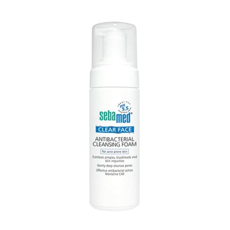 Pembersih Muka Clean And Clear jual sebamed clear anti bacterial cleansing foam