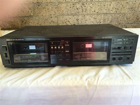 marantz cassette marantz dual logic stereo cassette deck sd565