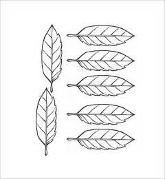 palm leaf template leaf template 7 free pdf sle templates