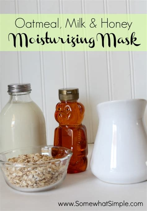 Moist Oat Milk Mask 25 diy spa recipes