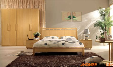 cheap modern furniture luxurious king solid wood bedroom