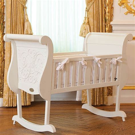 Chelsea Cradle In White And Luxury Baby Cribs In Baby Luxury Baby Crib