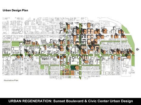 design project guidelines sunset boulevard civic center urban design plan