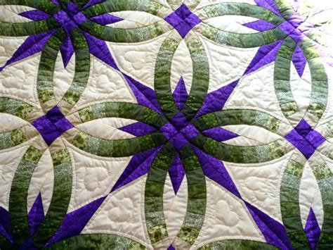 Handmade Wedding Quilts - wedding ring quilts co nnect me