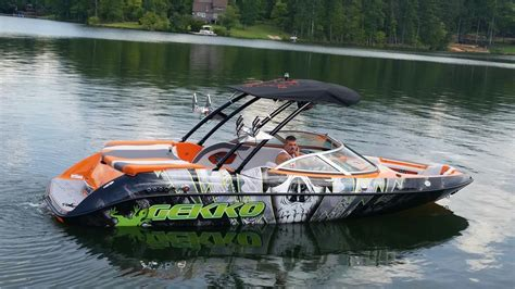 pavati wake boat interior 2015 gekko revo 6 7 wake surf wake board boat for sale in